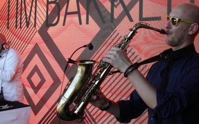 Saxofonist Tim Bakker